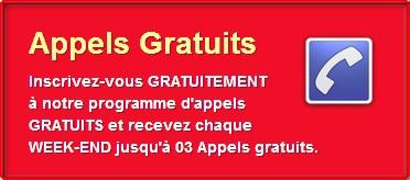 Appels Gratuit Chaque Week End - Romuald Technology