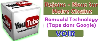 Youtube : Romuald Technology